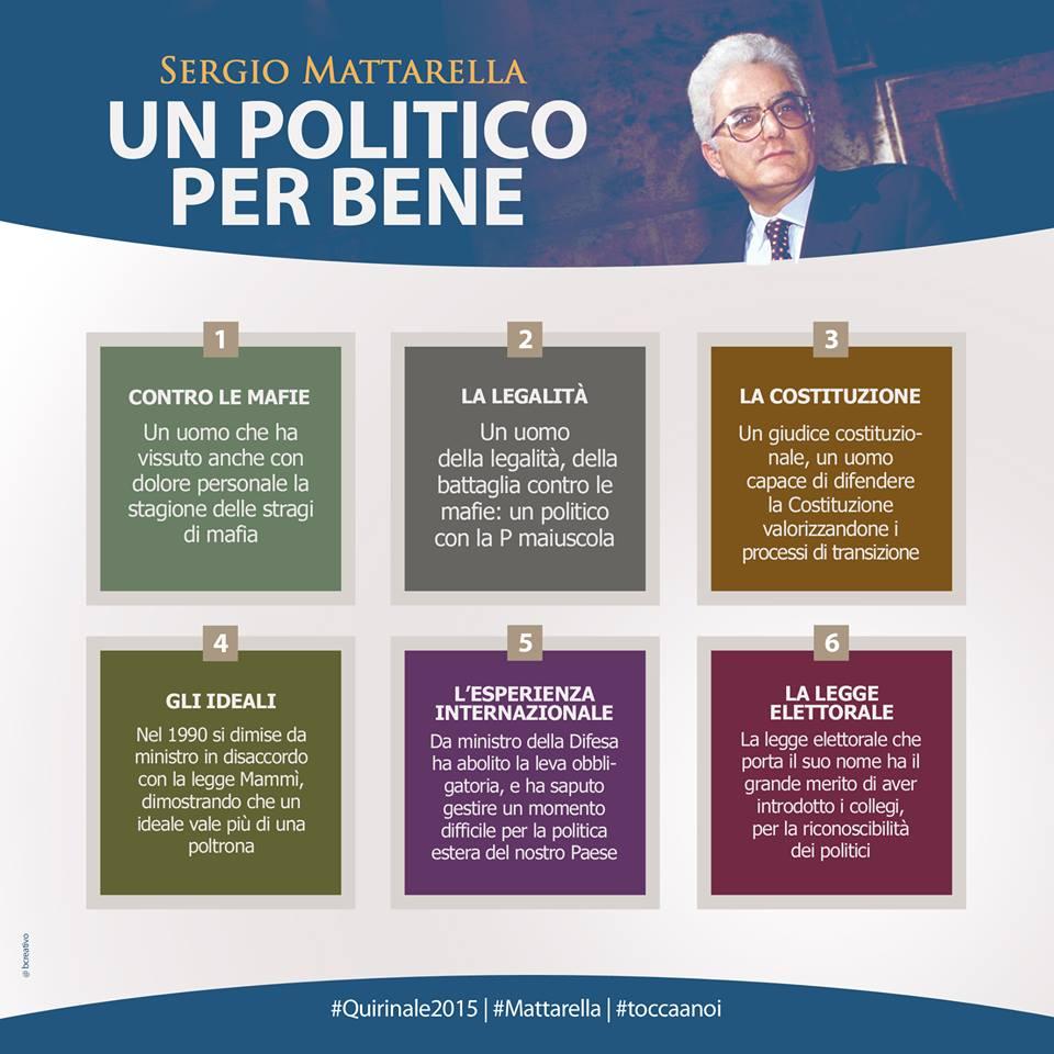 Sergio Mattarella Un Politico per bene